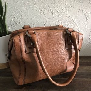 Fossil Marlow Leather Satchel